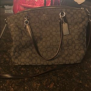 Authentic Coach Purse with matching wristlet!